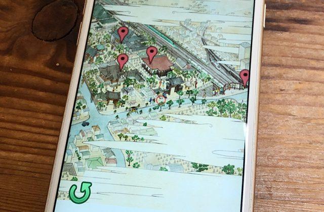 浮世絵の絵地図
