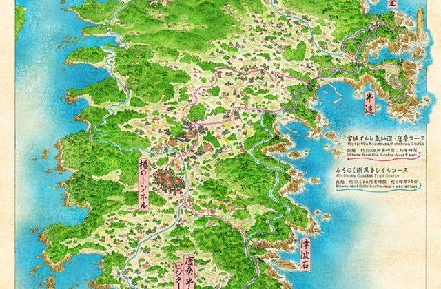 浮世絵 絵地図